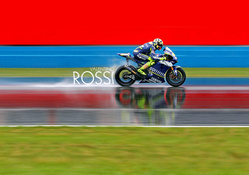 valentino Rossi in MOTO GP Race