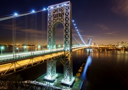 George Washington Bridge Lights