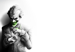 The Joker Batman Arkham City Art