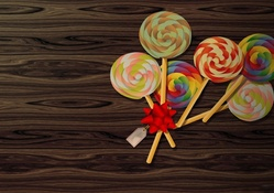 Lollipops Widescreen Wallpaper