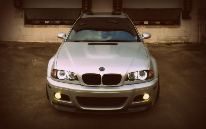 Bmw E46 M3 Mean Front End Download Hd Wallpapers And Free Images