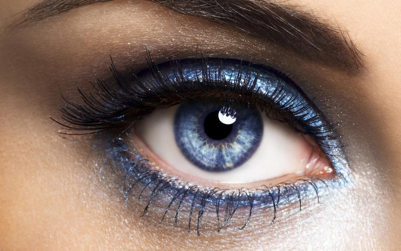Макияж для голубых глаз чтобы подчеркнуть цвет