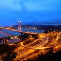 Hong Kong Highways Evening