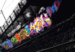 GRAFITI TRAIL BLACK