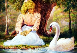 Lady of the Swans