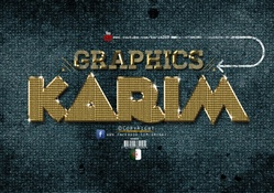 Gold Text Effect_Photoshop_Cc_By_KarimGFX