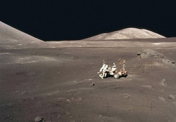 Lunar Photo _ NASA