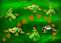 ♥ Greenfroggies for Di (GREENFROGGY1) ♥
