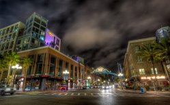 San Diego Gaslamp District...