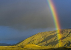 Rainbow over Mountain