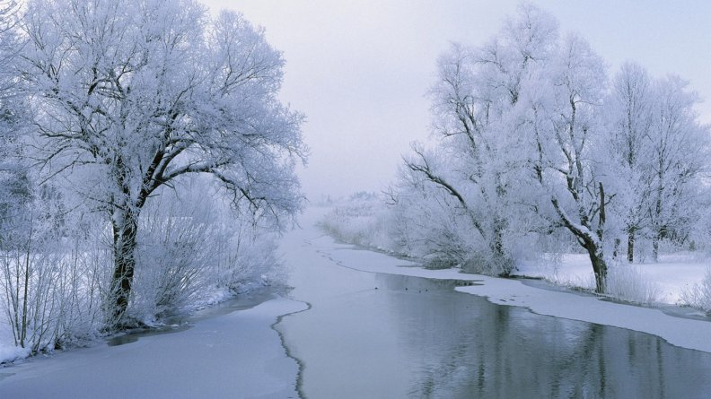 winter pond download hd wallpapers and free images