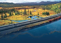 Princess Train Through Denali National Park