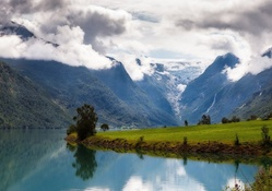 magical nordfjord district in norway