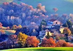 Autumn In Serralta, Italy