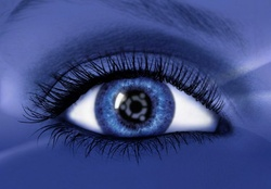 Blue Ubuntu Eye