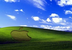 Apple Logo on Windows XP