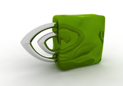 Nvidia Logo _ Green Ice