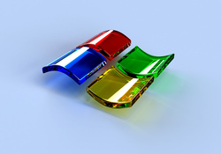 Glass Windows XP Logo