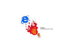 Firefox Melting Internet Explorer