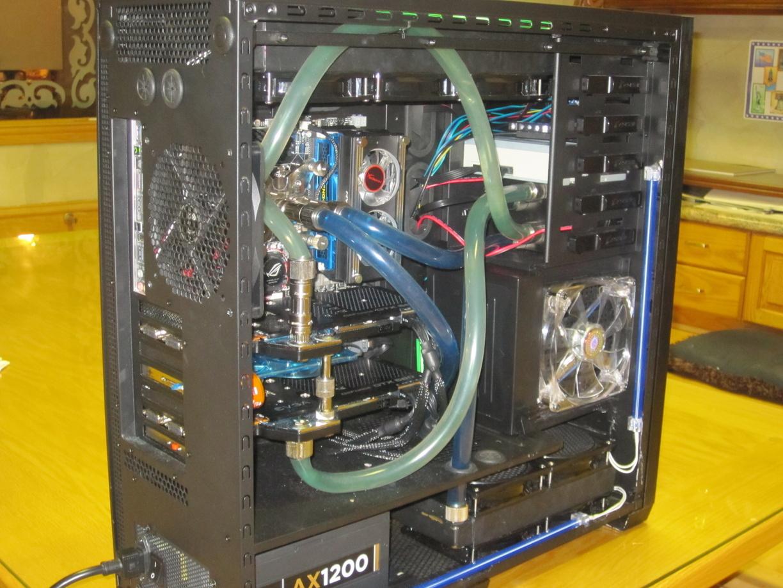 Охлаждающая жидкость для компьютера своими руками