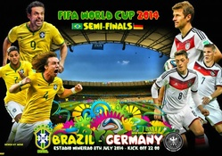 BRAZIL _ GERMANY SEMI_FINALS WORLD CUP 2014