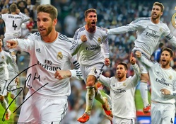 SERGIO RAMOS REAL MADRID WALLPAPERS