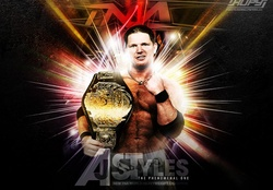 TNA World Champ AJ Styles