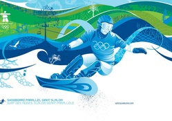 Olympic Snowboard Parallel giant slalom
