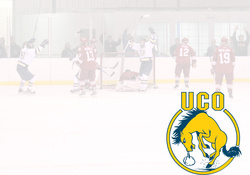 UCO Hockey Goal Celebration