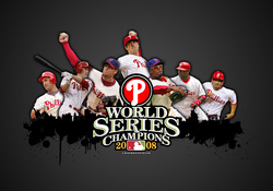 Phillies World Series of 2008 (Gray)