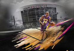 Kobe Bryant and the Staples Center