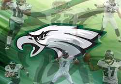 Philadelphia Eagles logo with Players