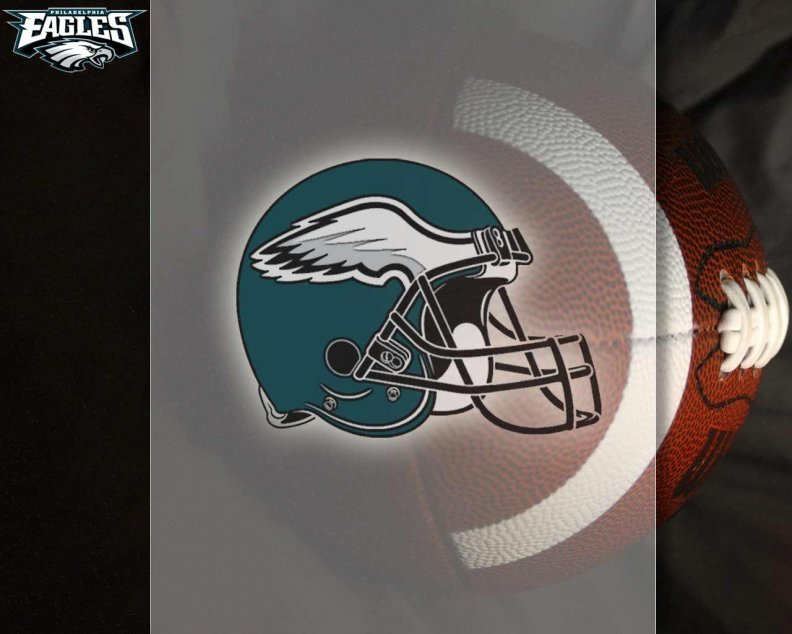 Philadelhia Eagles Helmet