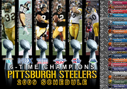 STEELER SCHEDULE
