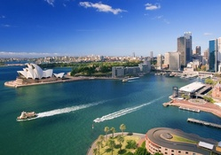 Sydney Harbor in Australia