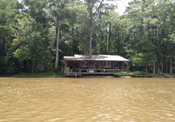 House along the Amite River in Louisiana