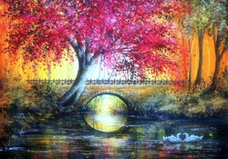_Autumn Bridge_