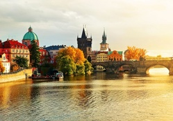 Prague at Fall