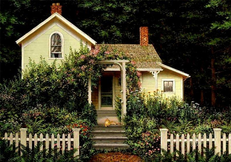 фото милых и красивых дома
