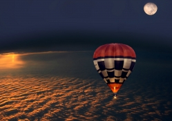 Ballooning at Night
