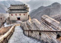 the great wall in hdr