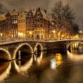 A Winter's Night in Amsterdam