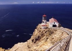 point reyes lighthouse in california
