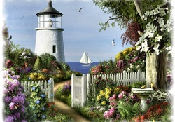 Garden Lighthouse F5