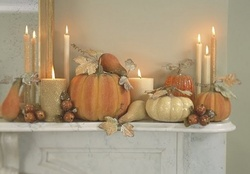 Elegant Fall Mantle