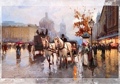 Early Russian Street Scene 1