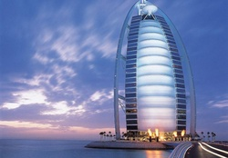 'Spectacular of Burj Al Arab in Dubai'