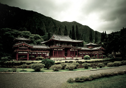 temple in the mountains