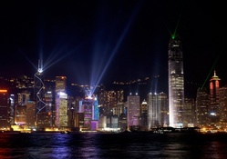 'Nightly Terrorizing Eyes in Hong Kong'