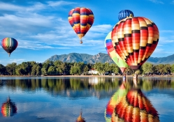 Hot Air Balloons Wallpapers